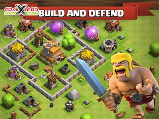 كلاش اوف كلانس مهكرة Clash of Clans
