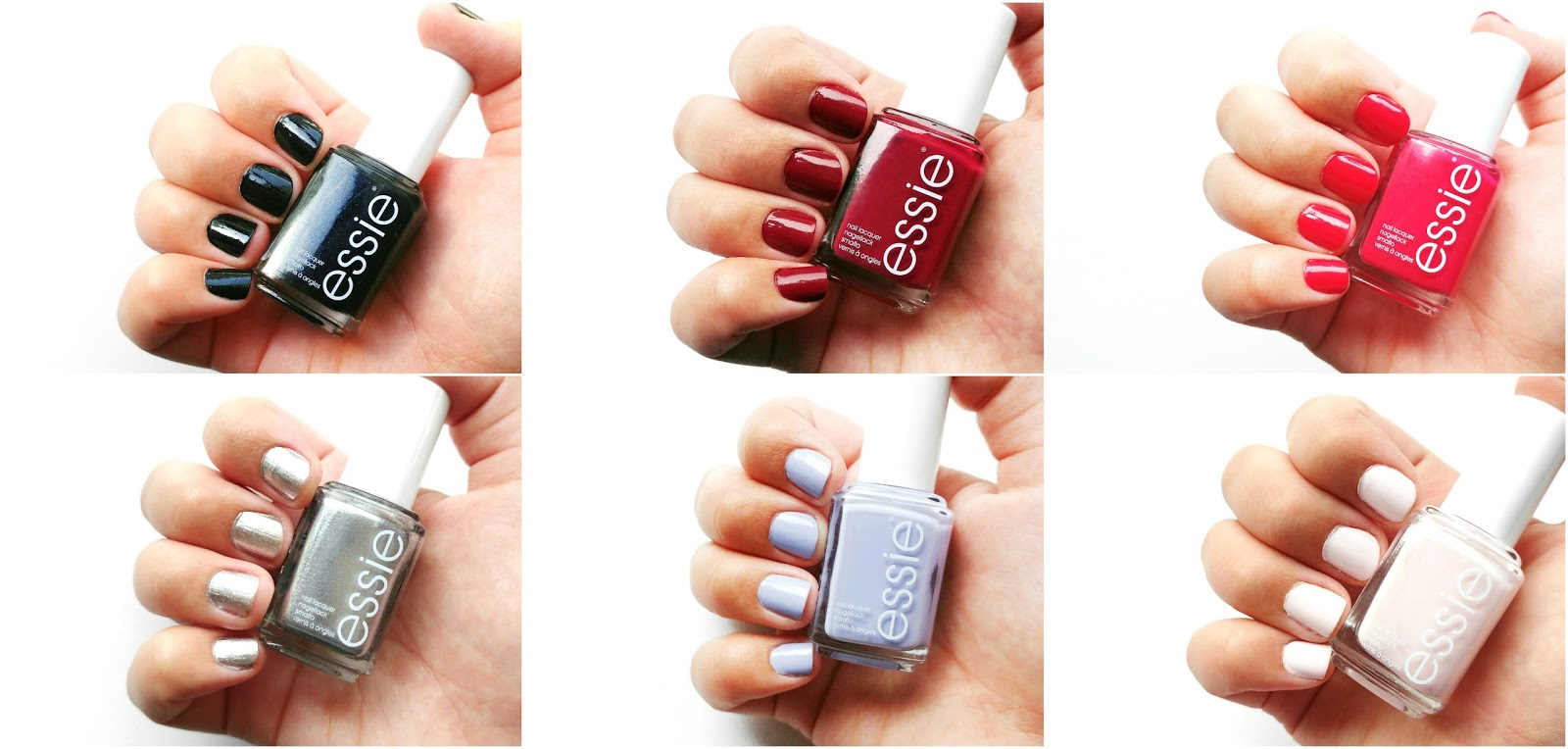 Essie Winter Collection 2016 Swatched and Reviewed