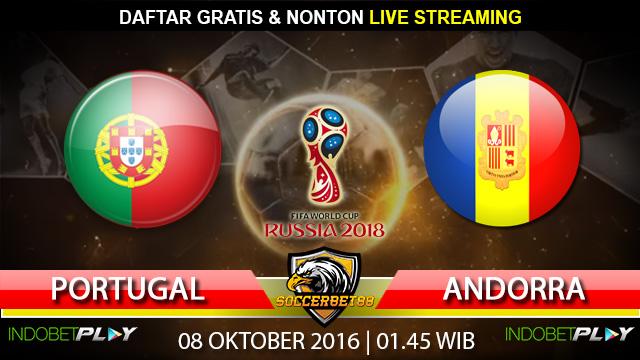 Prediksi Portugal vs Andorra 08 Oktober 2016 (Piala Dunia 2018)