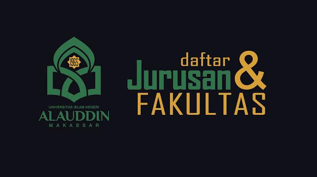 Daftar Jurusan dan Fakultas yang ada di UIN alauddin Makassar lengkap tahun 2017/2018