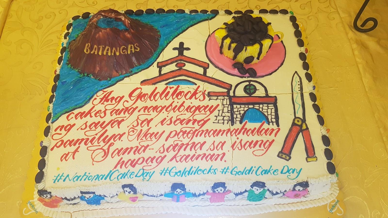 Cultureph Goldilocks Celebrates Nationalcakeday
