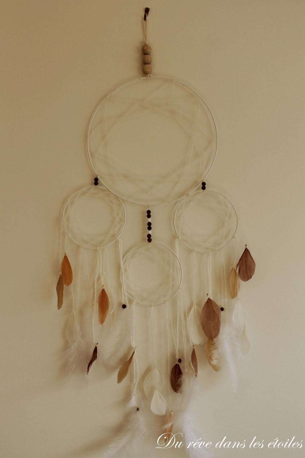 attrape reve DIY dreamcatcher
