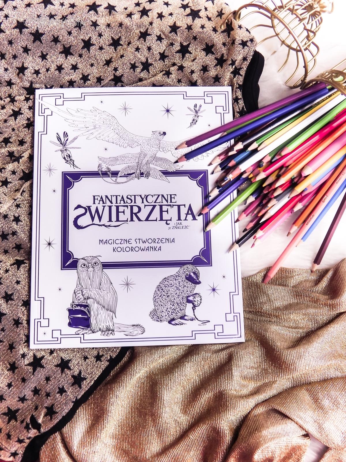 6 Konkurs ! Do wygrania 6 kolorowanek Fantastyczne zwierzęta i jak je znaleźć Magiczne zwierzęta kolorowanka oraz Magiczne miejsca i postacie kolorowanka. HarperCollins. Melodylaniella harry potter