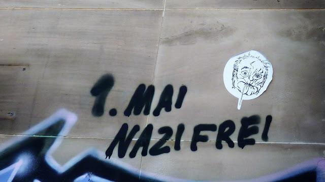 Graffiti Erfurter Hauswand