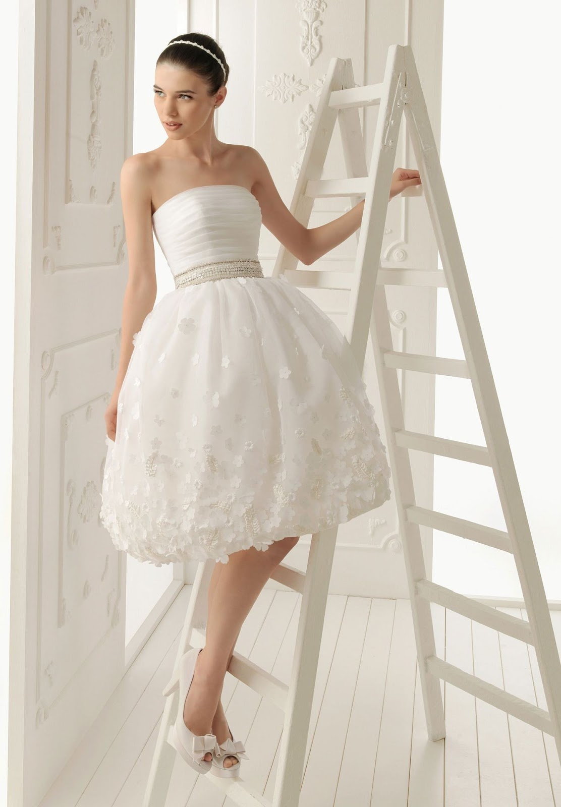 WhiteAzalea Elegant Dresses: Simple Elegant Wedding