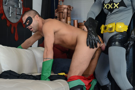 Think, that batman and robin spoof porno very valuable