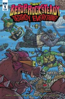Bebop & Rocksteady: Destroy Everything #1