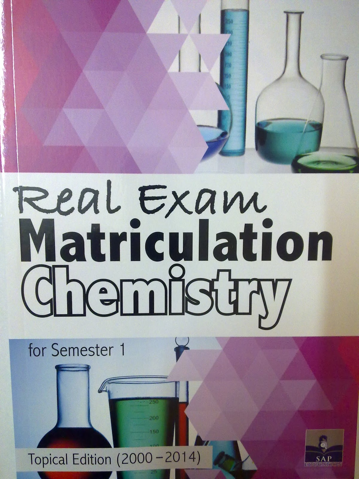 lookchemistry real exam matriculation chemistry for semester 1 topical edition 2001 2015 this module consists of 15 years cloned matriculation past year examination