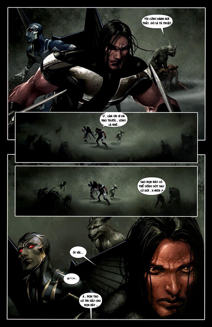 X-Men Necrosha chap 1 trang 20