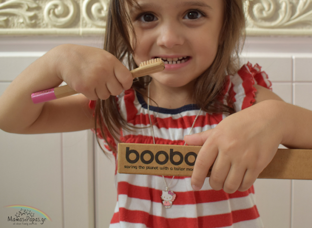 boobam eco-friendly biogradable toothbrush