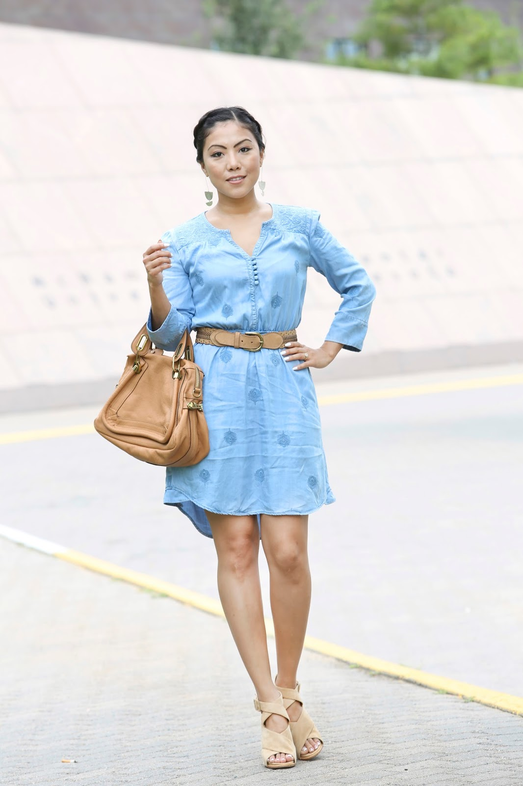 Colour Shoes To Wear With Blue Dress