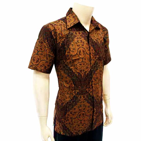 Kemeja Dari Batik Tulis: Kemeja Pria Batik Tulis Solo KODE : BP 3355