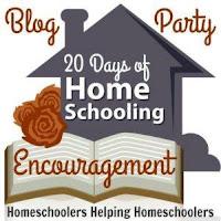 Homeschool 20 days of encouragement