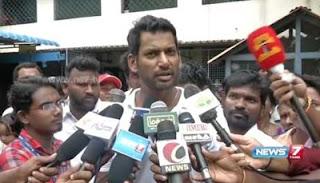 Vishal and Arya cast their vote at Chennai | News7 Tamil