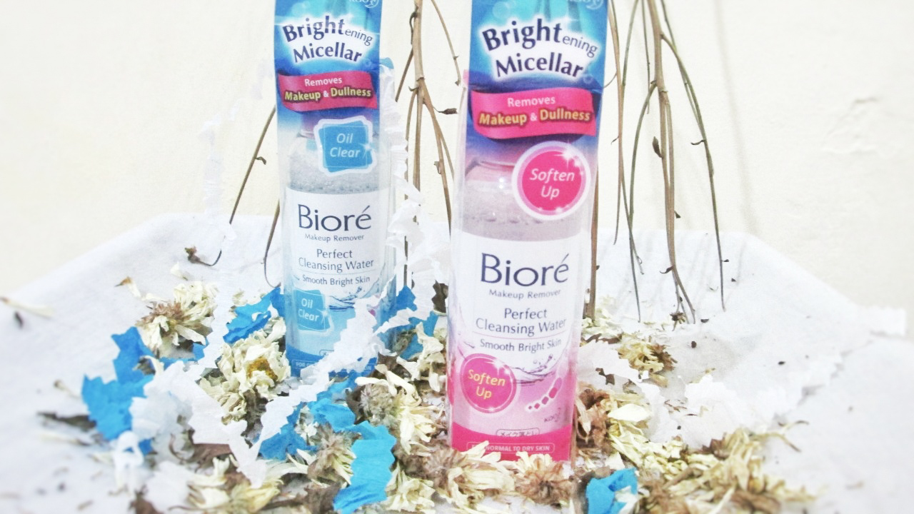 Biore Brightening Micellar Perfect Cleansing Water- Soften up