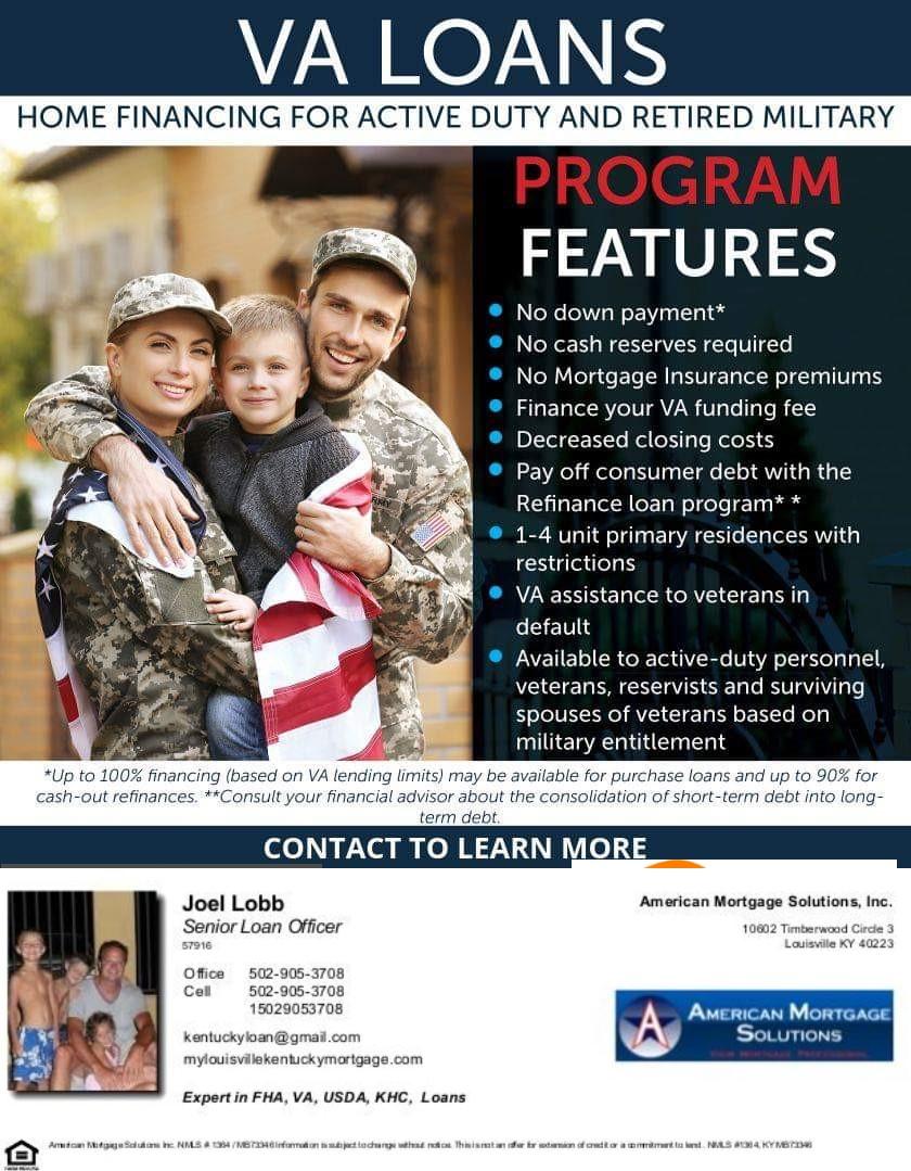 Kentucky VA Mortgage Lending Guidelines