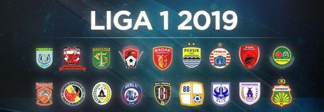 Daftar Logo 18 Klub Peserta Liga 1 2019