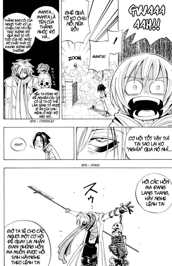 Shaman King [Vua pháp thuật] chap 40 trang 15