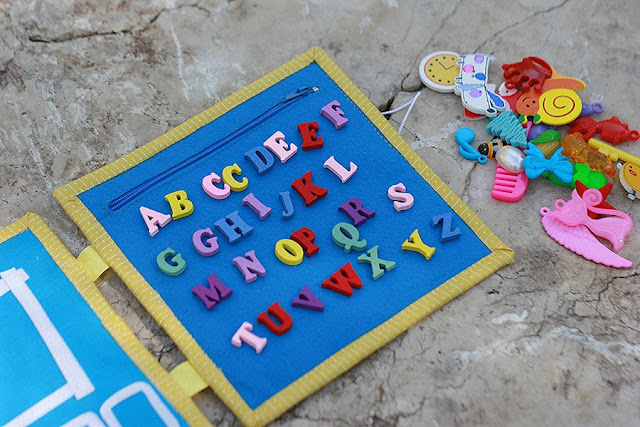 Spelling book playmat Handmade by TomToy