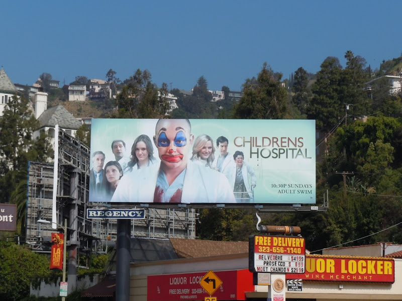 Childrens Hospital season 1 billboard
