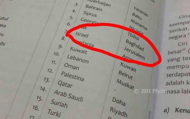 Soal Al Quds Ibukota Israel, Penerbit Yudhistira Ogah Tarik Bukunya