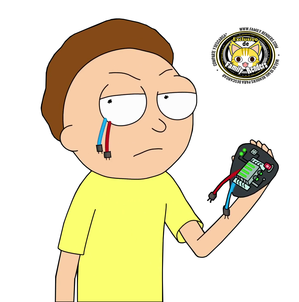 render Evil Morty