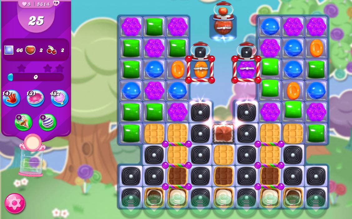 Candy Crush Saga level 5814