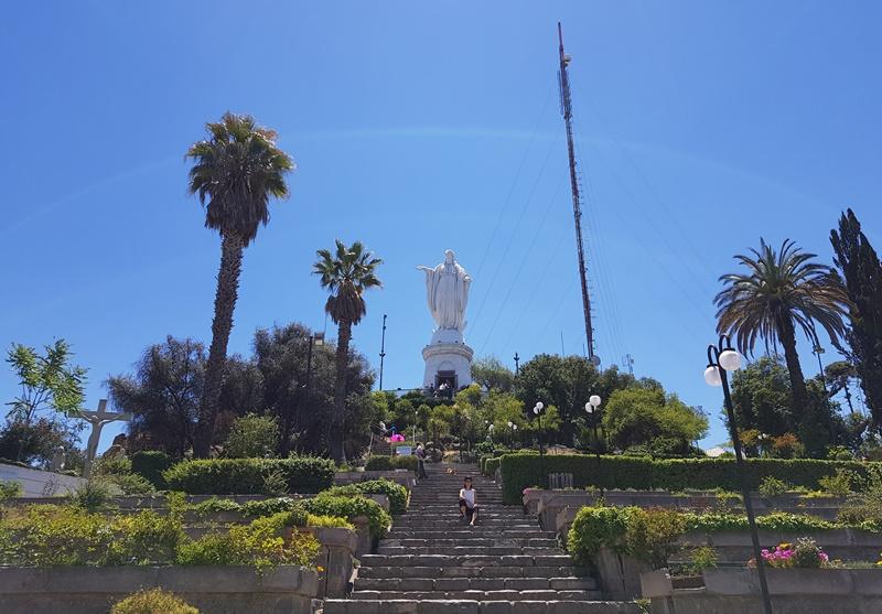 Cerro San Cristóbal, Santiago