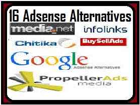Todayfirstevent 16 Best High Paying Google Adsense Alternatives New