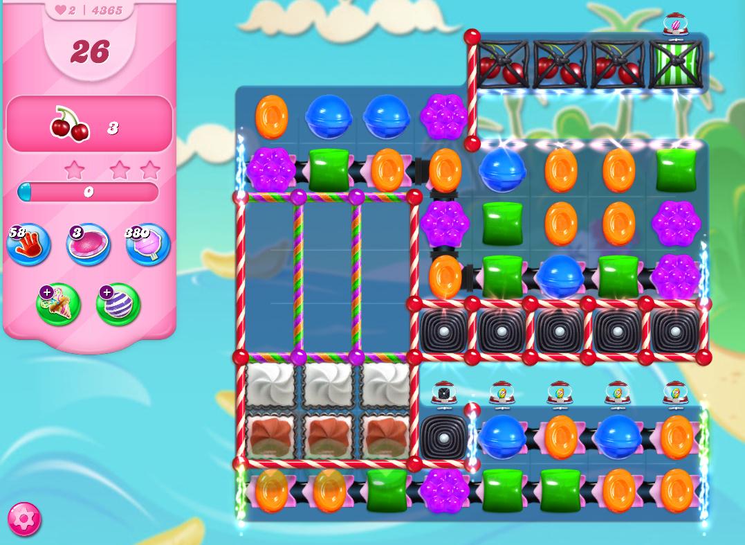 Candy Crush Saga level 4365