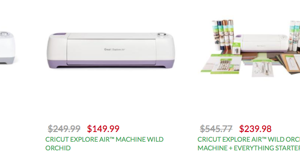 Obsessed With Scrapbooking Cricut Cyber Monday Extended