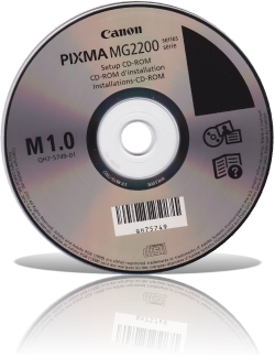 CD original de instalación Drivers y Programas Canon PIXMA MG2200 [Nuevos links]