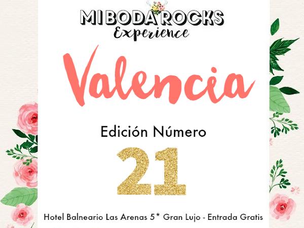 Solicita entrada gratis para Mi Boda Rocks Experience Valencia
