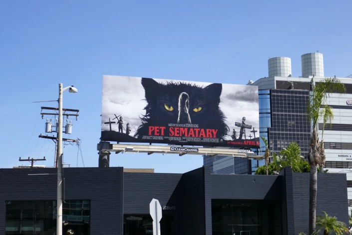 Pet Sematary film billboard