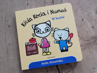 Recenzja książki kicia kocia i Nunuś na blogu atrakcyjne wakacje z dzieckiem