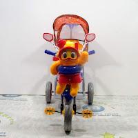 family f906kt octopus sepeda roda tiga boncengan