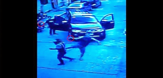 Man who flogged 2 Traffic Enforcers goes to QCPD