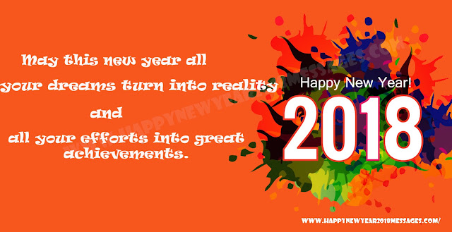 Happy New Year 2018 Message Images