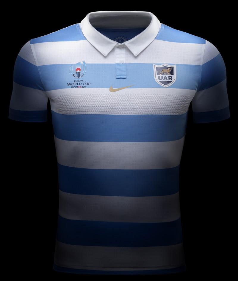La camiseta oficial de Los Pumas para la #RWC2019
