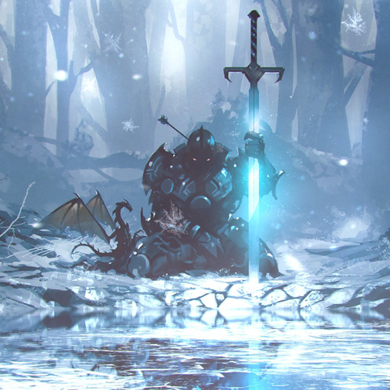 Frost Knight Wallpaper Engine