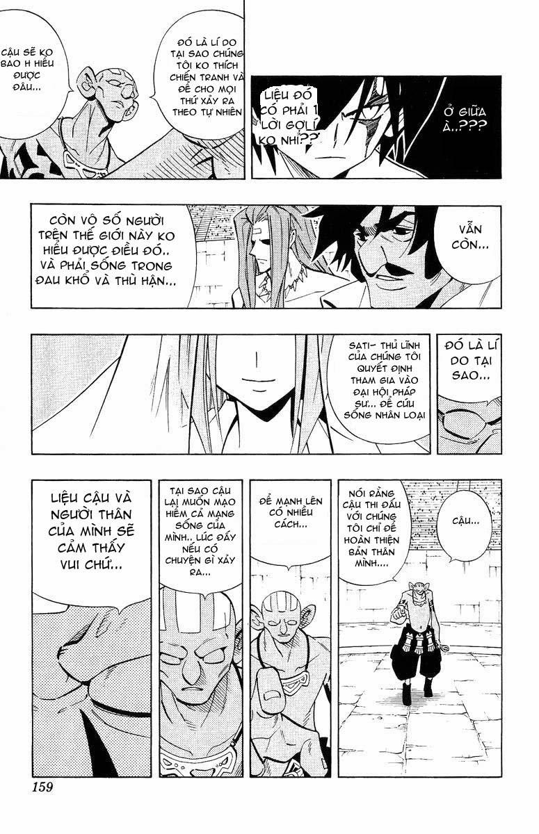 Shaman King [Vua pháp thuật] chap 223 trang 13