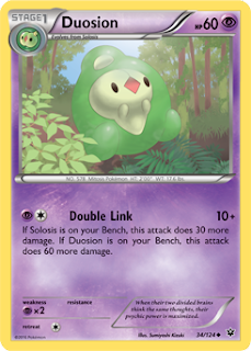 Duosion Fates Collide Pokemon Card