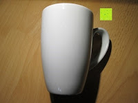 Tasse Rückseite: Coffeepolitan Premium Geschenkset - Kaffee aus 5 Kontinenten mit Zubereitungsset - grob gemahlen 5 x 9 Portionen (5 x 9 x 7g); ideal auch als Geburtstagsgeschenk oder Probierset