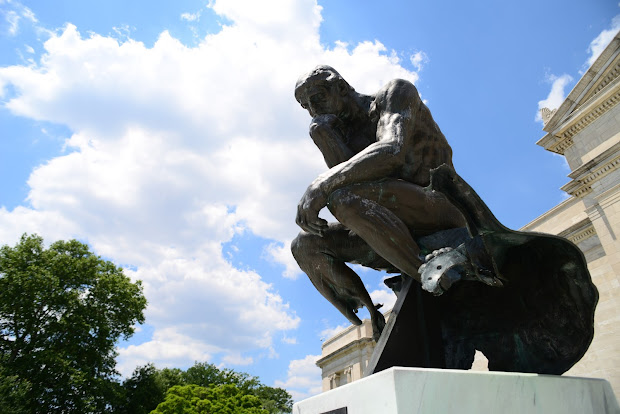 Lost Tokyo Rodin' Thinker Cleveland Museum Of Art