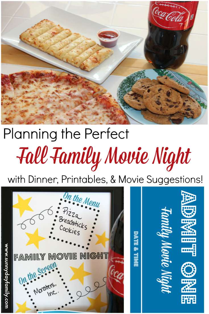 Make Friday the best night of the week with my Fall Family Movie Night! Skip cooking and relax with this easy family movie night plan.