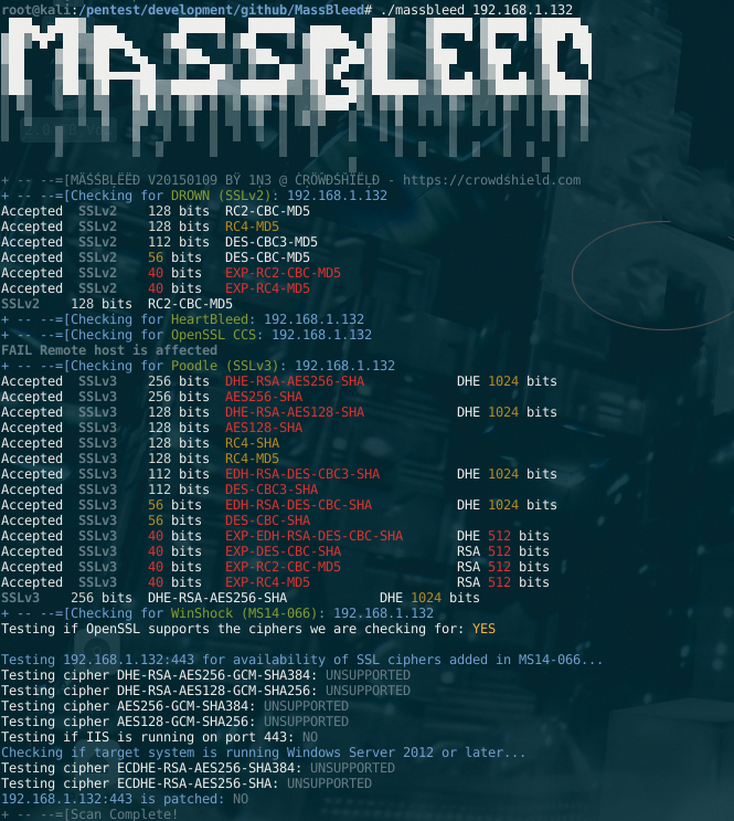 MassBleed Screenshot
