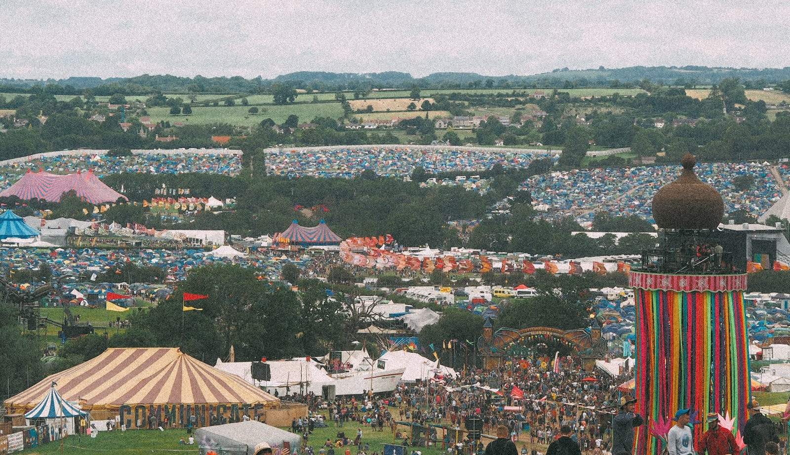 POSTCARDS FROM GLASTONBURY - FIVE THINGS I LEARNT DURING MY FIRST TIME THERE