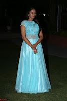 Pujita Ponnada in transparent sky blue dress at Darshakudu pre release ~  Exclusive Celebrities Galleries 134.JPG