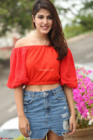 Rhea Chakraborty in Red Crop Top and Denim Shorts Spicy Pics ~  Exclusive 109.JPG