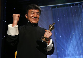 Jackie Chan wins his first Oscar